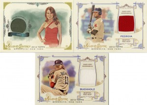2014_Ginter_Relics_Buchholz_Pedroia_Day