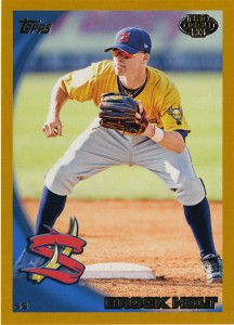 2010_Topps_Minors_Brock_Holt_Gold-50