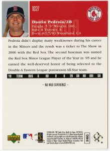 2006_UD_Pedroia_RC_back