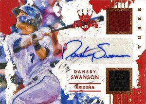 2016_DiamondKings_Dansby_Swanson_RelicAuto_3-10_front